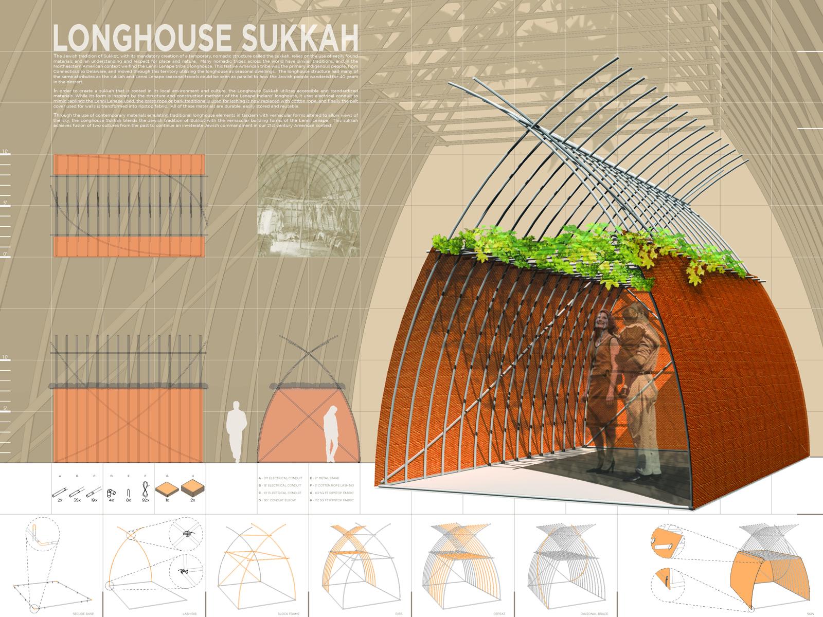 Sukkah city longhouse sukkah