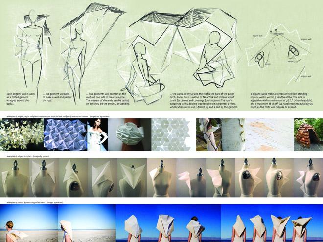 Origami Sukkah